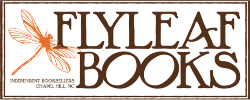 The logo for Flyleaf Books.