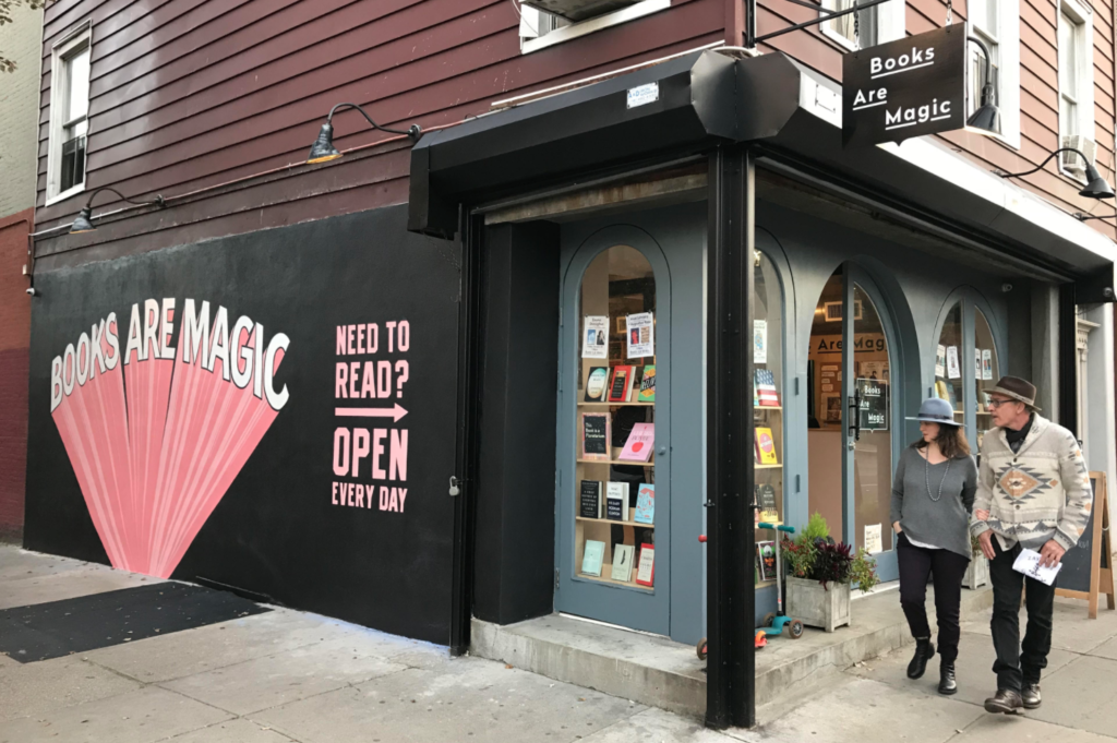 A photo of Books are Magic in Brooklyn.